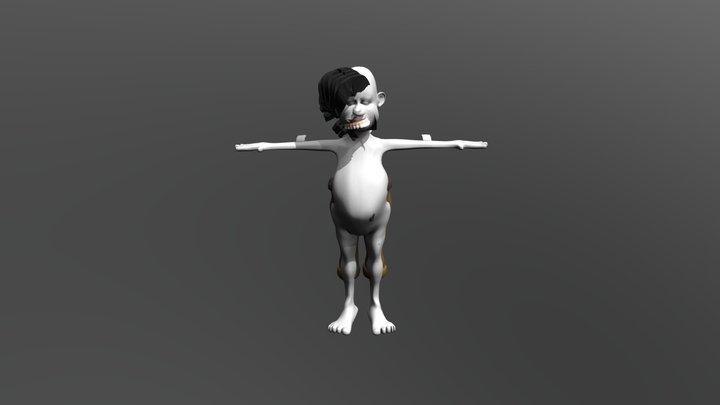 Cartoon character _reynolds 3D Model