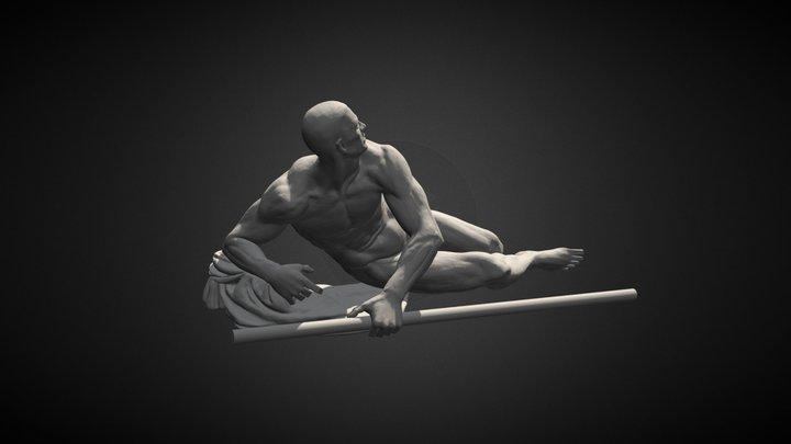 Warrior #19 3D Model