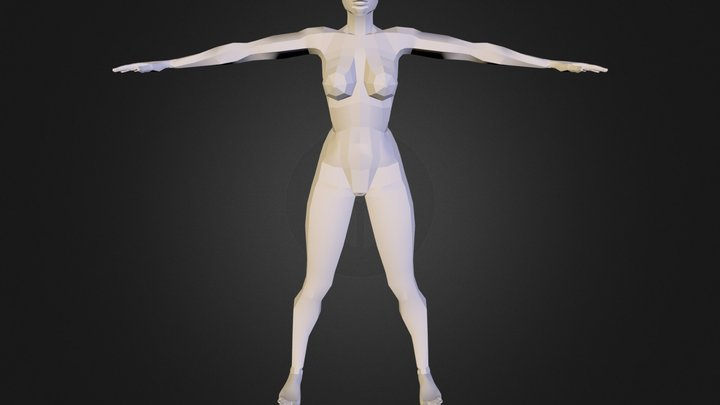 Full Body Unwrap Ob 3D Model