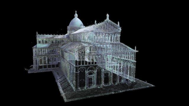 Pisa Cathedral 3D Model