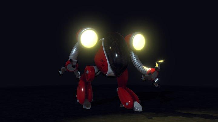 Área 51.1: Robô Explorador 3D Model