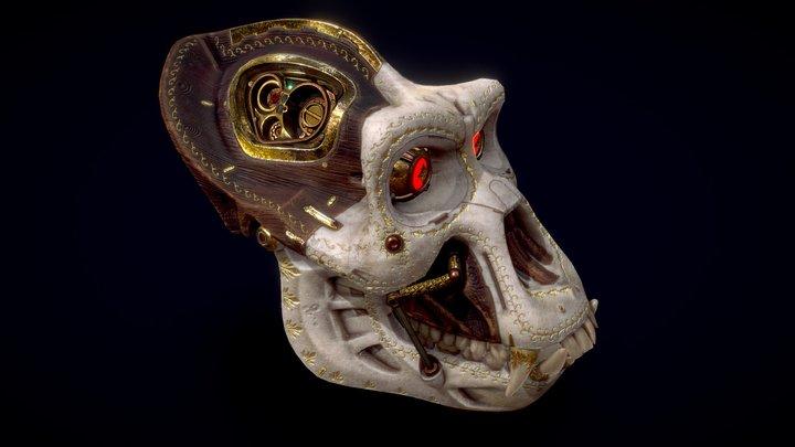 Steampunk monkey 3D Model