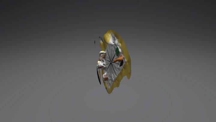 cat 1 3D Model