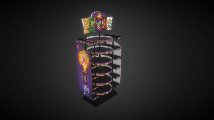 Spinner Rack 3D Model