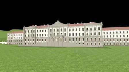 Health institute 3D Model