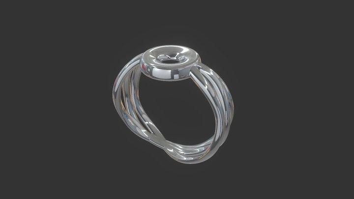 Issey Ring 02 3D Model