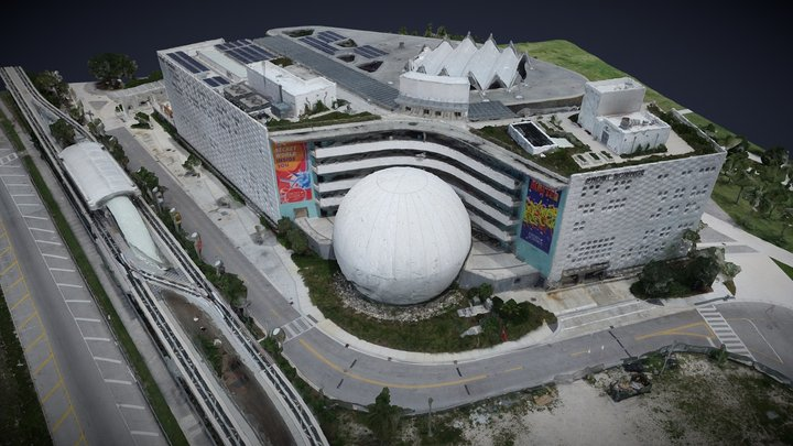 Miami Frost Museum 3D Model