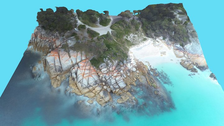 Sloop Reef, Bay of Fires, Tasmania. AUS 3D Model