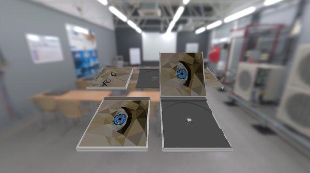 3D Digipak 3D Model