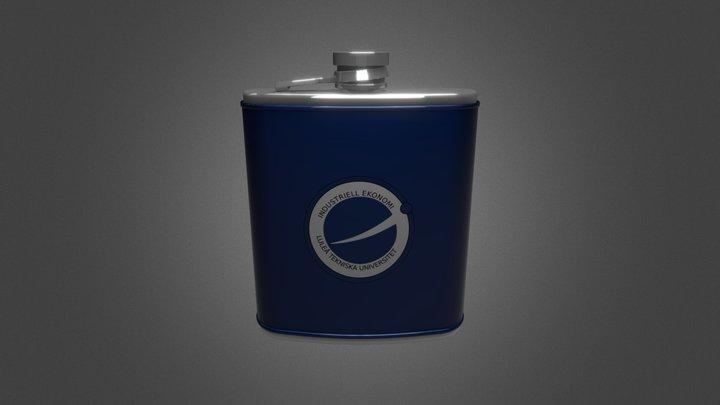 i-Hipflask 3D Model