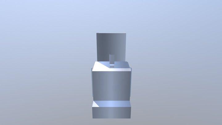 D60 Front Loading Washing Machine 3D Model