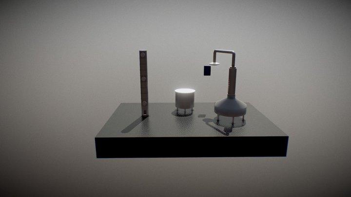 Maquinaria 3D Model