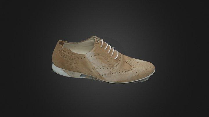 Zephyr3D Free Chaussure Beige 3D Model