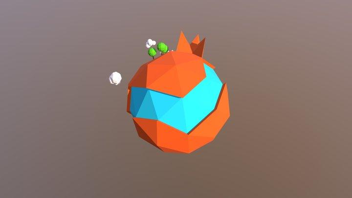 Planeta 3D Model