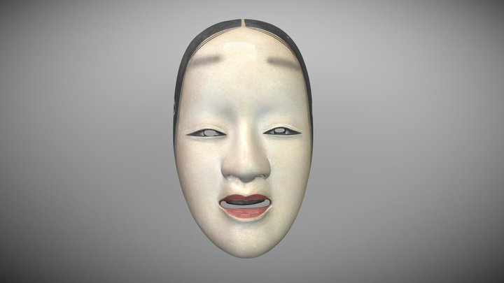 Noh Mask: Hagoromo 3D Model