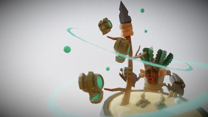 Robot Zulu Soosh 3D Model