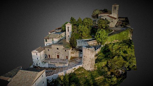 San Bartolomeo, San Giorgio, Torre Terzano 3D Model