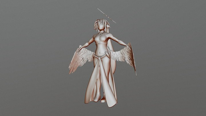 JIbril 3D Model