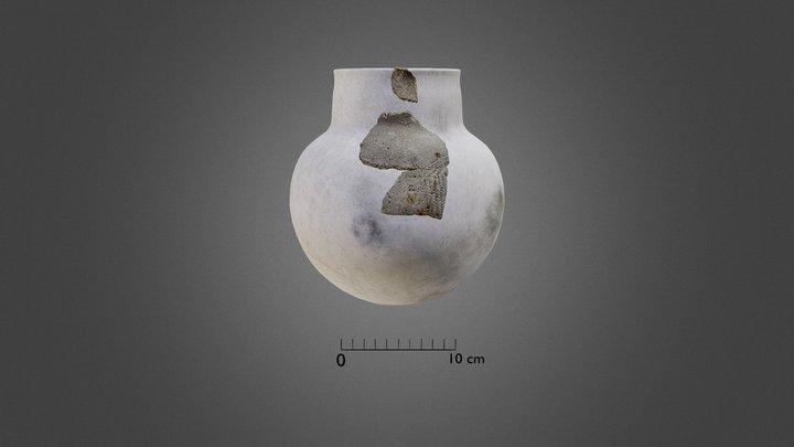 Vase néolithique Leucate 3D Model