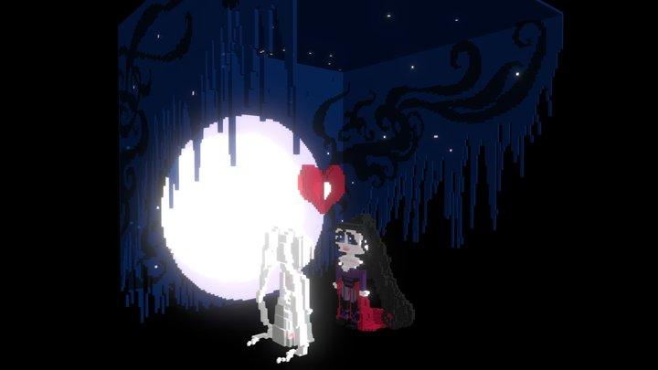 Moonlight Love 3D Model