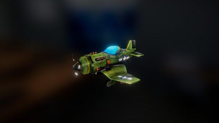 Plane PC 3D Model