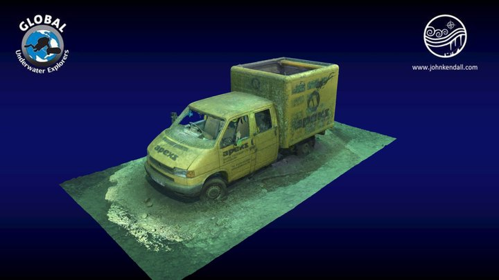 Apeks Van at Capernwray 3D Model