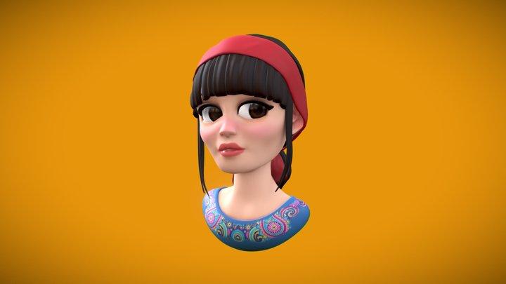 Eve - God Help the Girl 3D Model