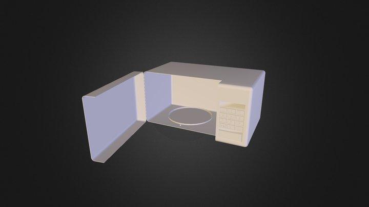 Microondas 3D Model
