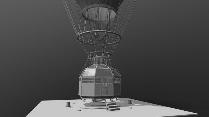 Aerostat 3D Model