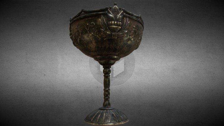 bronze vase 3D Model