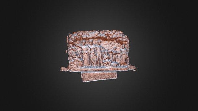 Athens Slab2 3D Model