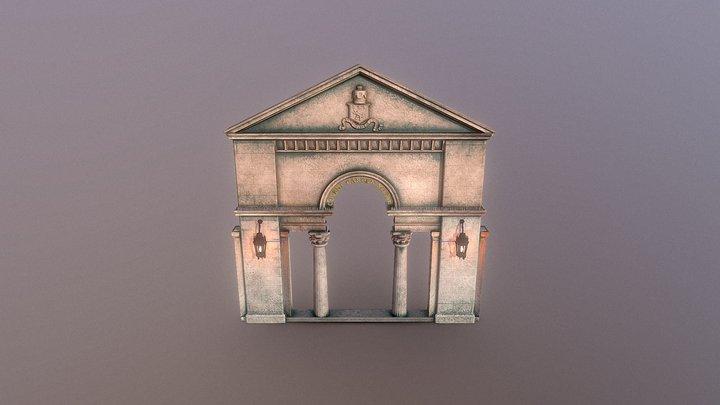 Covent Garden Arch 3D Model