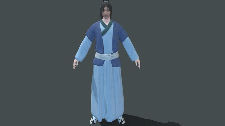 Ancient Chinese 3D Model