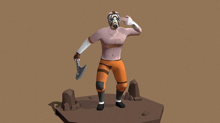 Psycho (WIP) 3D Model