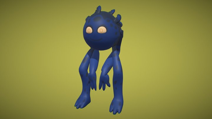Gumo version 2 3D Model