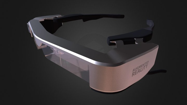 AR Augmented Reality Glasses 3D Model