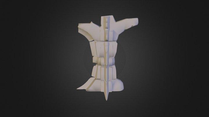 Main Pillar 3D Model