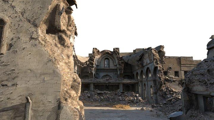 Al-Tahira Church 3D Model
