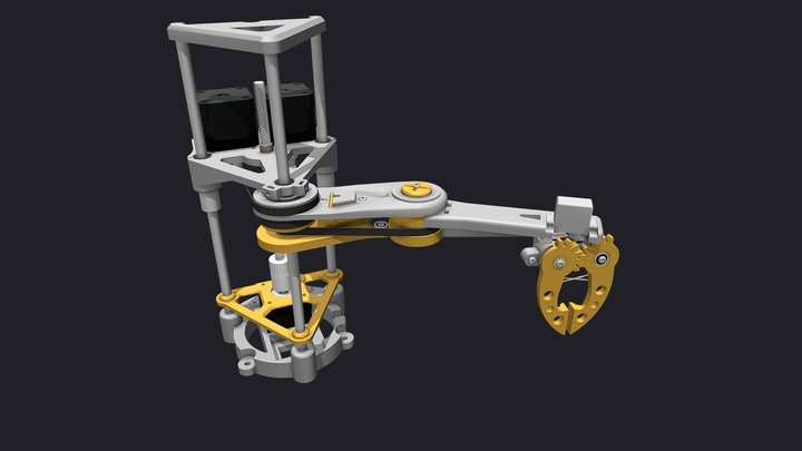 SCARABot Robotic Arm 3D Model