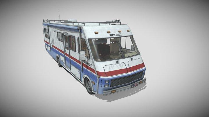 80's Motorhome 3D Model