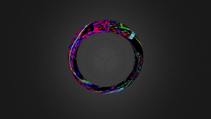 טבעת פשוטה 3D Model