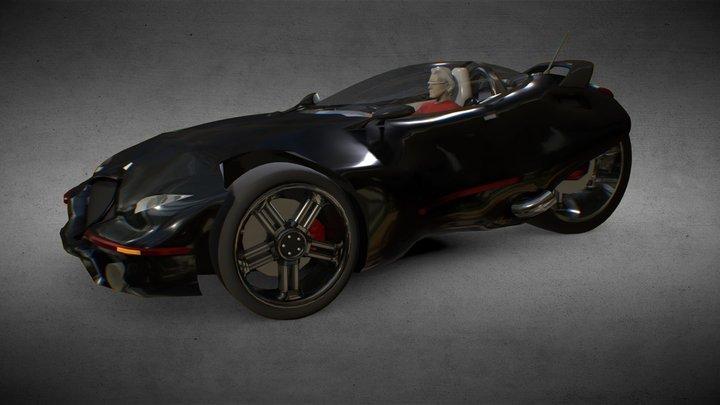 Black Sunshine 3D Model