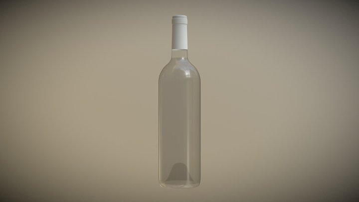 wine bottle test 2 3D Model