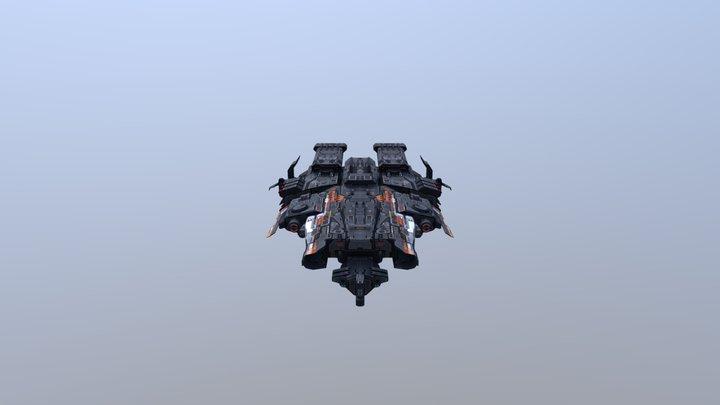Corvette-F3 by RM 3D Model