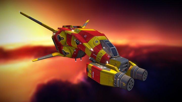 Taiidan Scout 3D Model