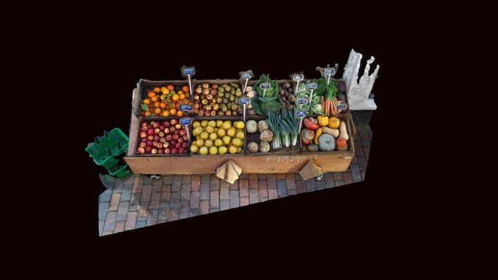 Fruit Stall - Work In Progress! 3D Model