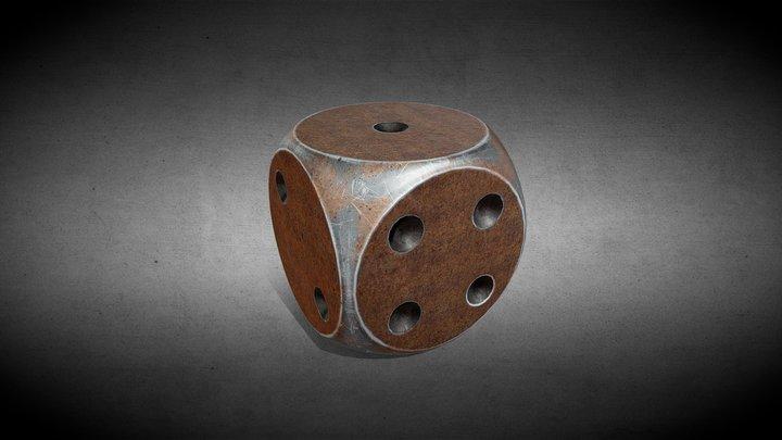 [Props] Rust dice [Free] 3D Model