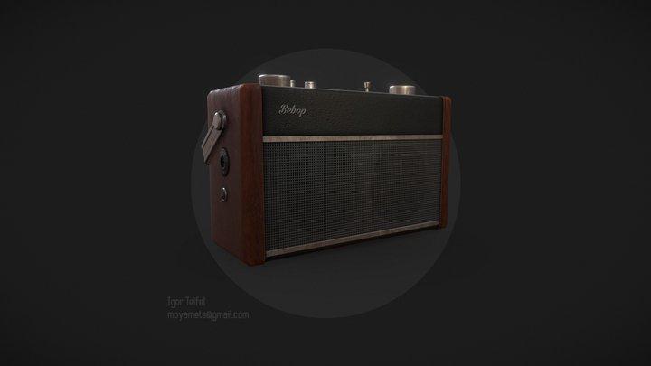 Bebop radio 3D Model