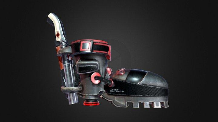 Gunboot 3D Model