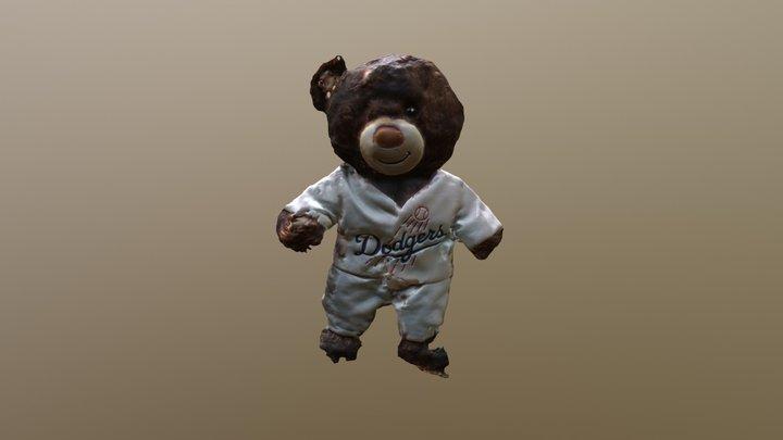 Dodger Bear 3D Model